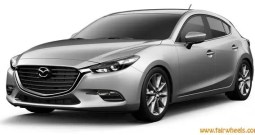Mazda 3 four door Touring 2017