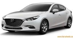 Mazda Three 4 Door sport 2017