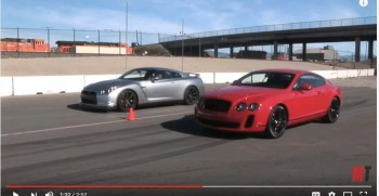 Bently archives fairwheels bently continental vs nissan gtr video voltagebd Image collections