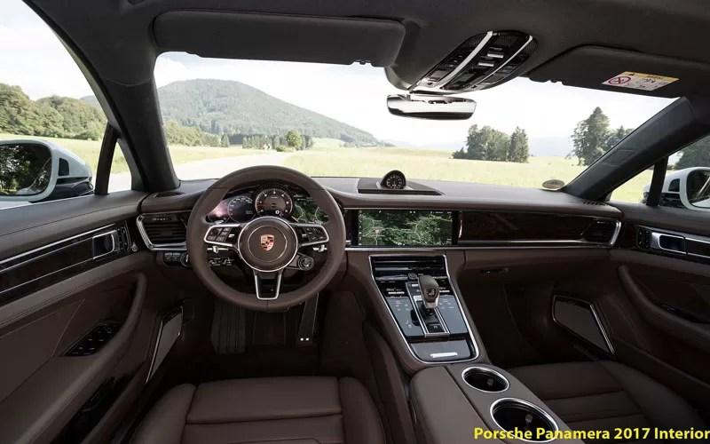Porsche panamera 2017 interior