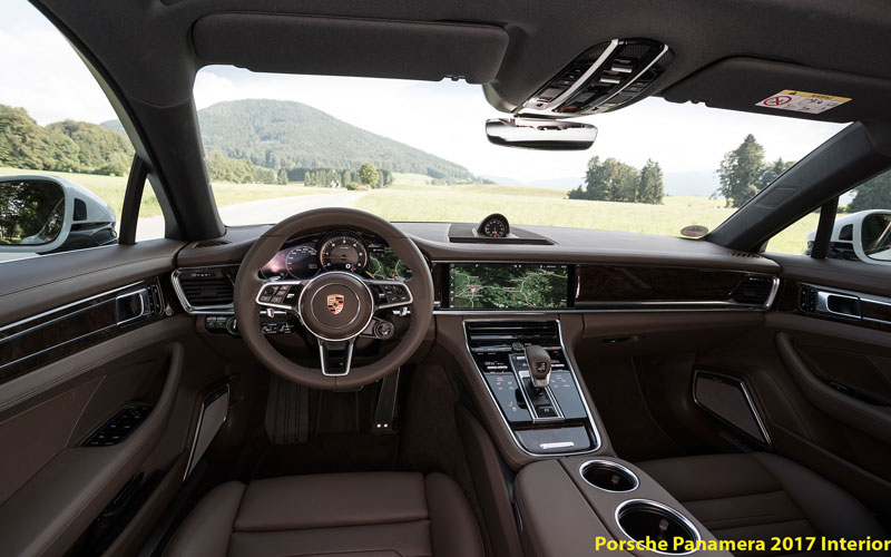 Porsche panamera 2017 interior fairwheels for Porsche panamera interior dimensions