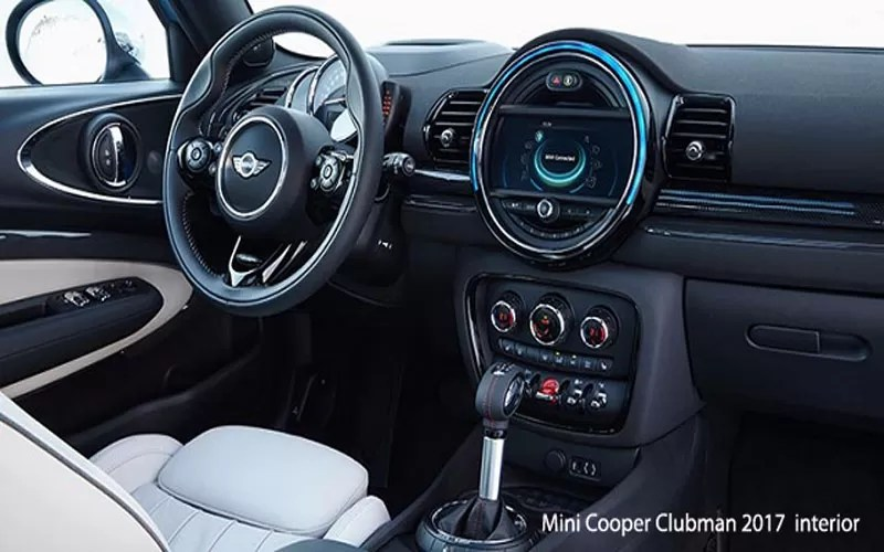 mini cooper clubman interior 2017. Black Bedroom Furniture Sets. Home Design Ideas