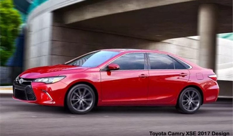 Toyota Camry XSE Automatic 2017 full
