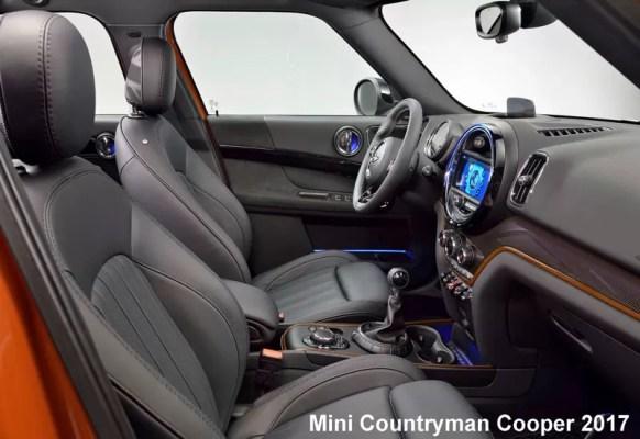 Mini-Countryman-Cooper-2017-front-Seats