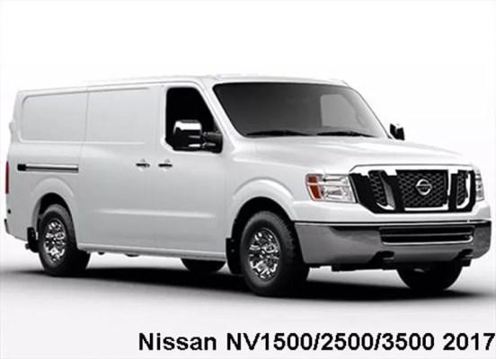Nissan-NV1500-2500-3500-2017-front-image
