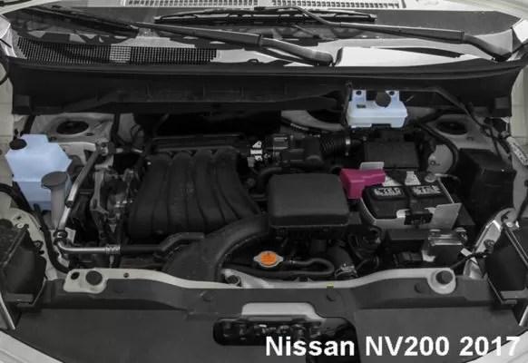 Nissan-NV200-2017-Engine