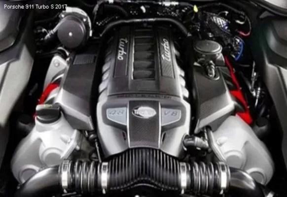 Porsche-911-Turbo-S-2017-engine