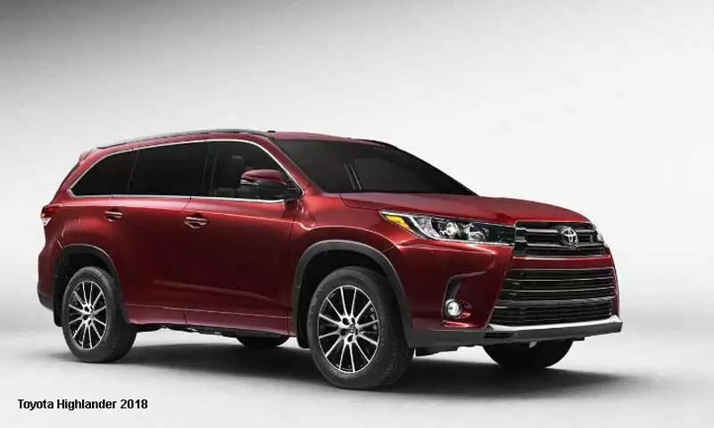 Toyota Highlander Hybrid Limited Platinum V6 AWD 2018 ...