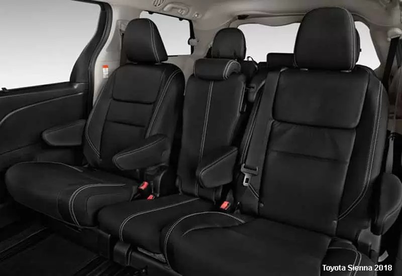 Toyota Sienna Limited Awd 2018 Price Specification