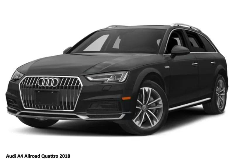 Audi A4 Allroad Quattro 20 Tfsi Premium 2018 Pricespecfication