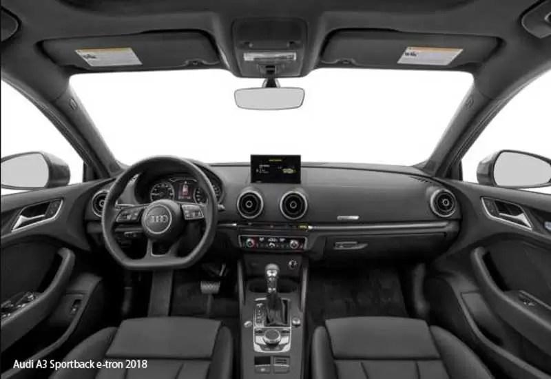 Audi A Sportback Etron PriceSpecifications Overview - 2018 audi a3 sportback e tron