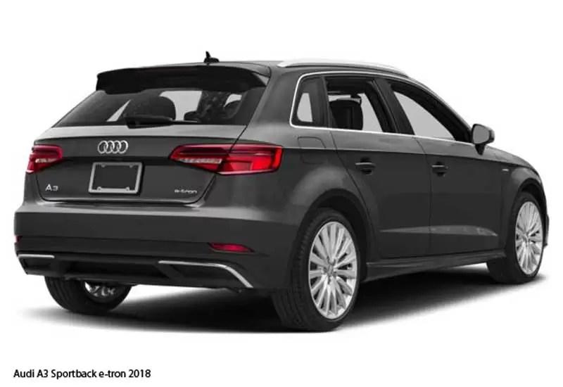 Aventador Price In Pakistan >> Audi A3 Sportback e-tron 2018 Price,Specifications & overview - fairwheels.com