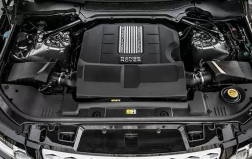 Land Rover Discovery 2018 engine image
