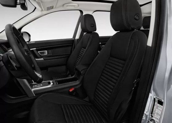 Land Rover Discovery 2018 front seats