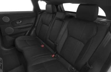 Land Rover Range Rover Evoque 2018 Back Seats