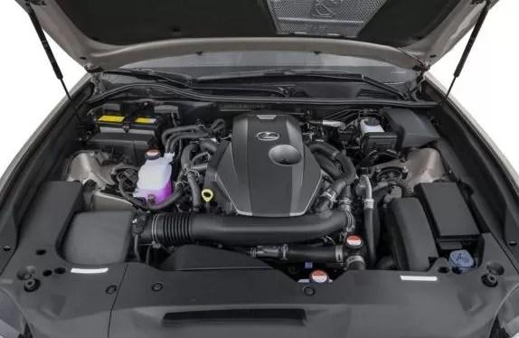 Lexus GS 2018 engine image