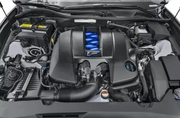 Lexus GS F 2018 Engine Image