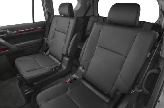 Lexus GX 2018 back seats