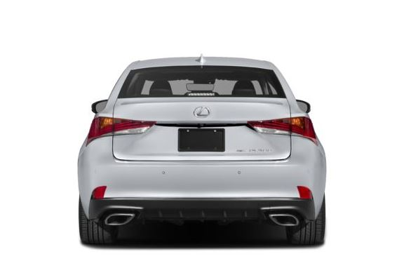 Lexus IS 2018 Back Image