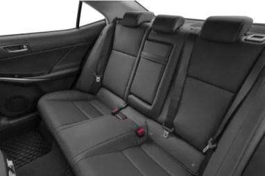 Lexus IS 2018 Back Seats