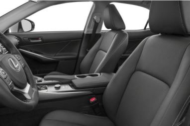 Lexus IS 2018 Front Seats