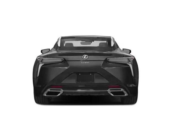 Lexus LC 2018 Back Image