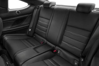 Lexus RC 2018 back Seats