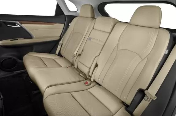 Lexus RX 2018 Back Seats
