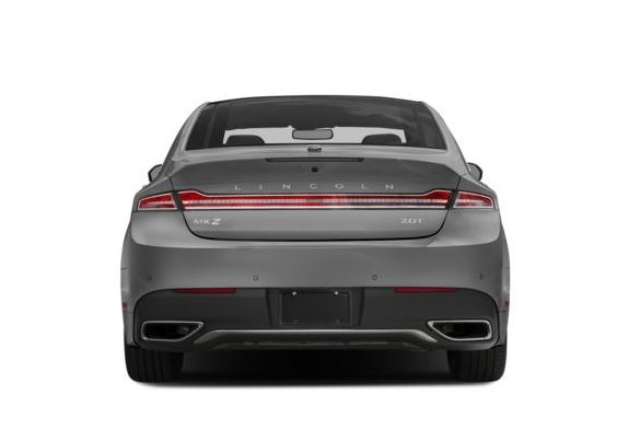 Lincoln MKZ 2018 Back Image