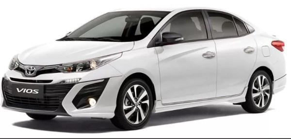 Upcoming Toyota Vios in Pakistan