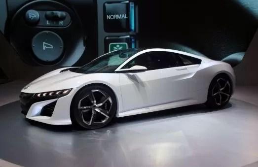 Honda NSX Hybrid 2016