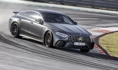 Mercedes AMG GT four door looks awesome