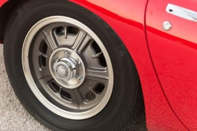 beautiful wheels of Toyota 2000GT