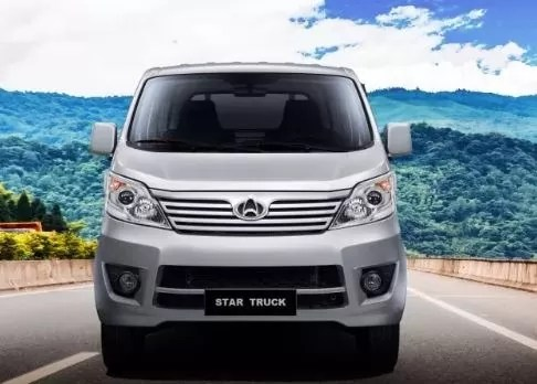 Changan M9 Karvaan 2019 front view