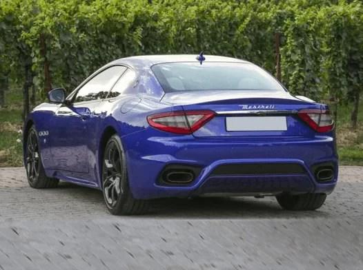 Maserati GranTurismo 2018 Back Image