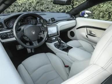 Maserati GranTurismo 2018 Front Seats