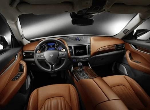 Maserati Levante 2018 Steering And Transmission