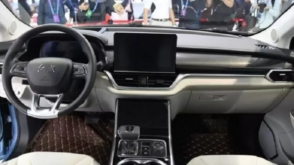 E-HS3 Electric SUV interior