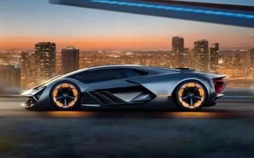 Lamborghini Terzo Millennio is a futuristic EV supercar without a battery