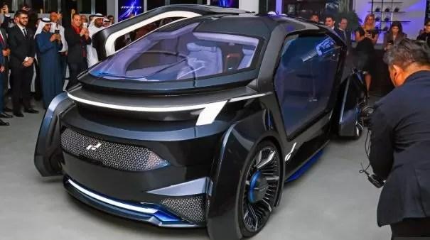MUSE by W-Motors Fully Autonomous UAE Based Electric Vehicle