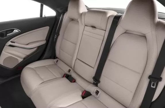 Mercedes AMG CLA45 2018 Back Seats
