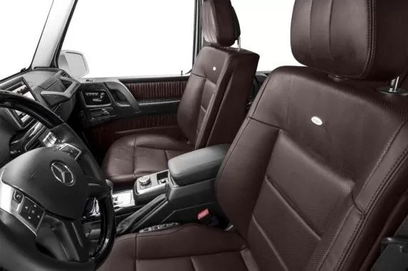 Mercedes AMG G63 2018 Front Seats