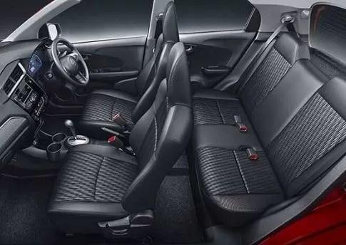 Honda Brio Complete Cabin View