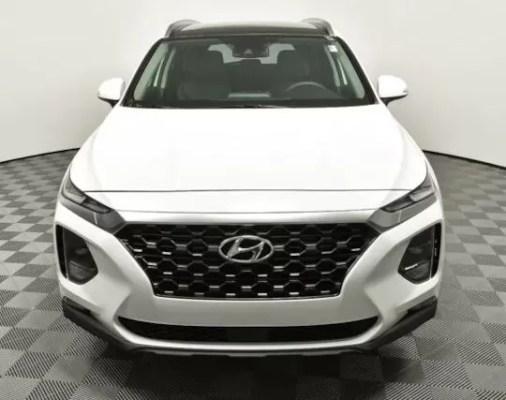 Hyundai Santa Fe 2019 Front Image