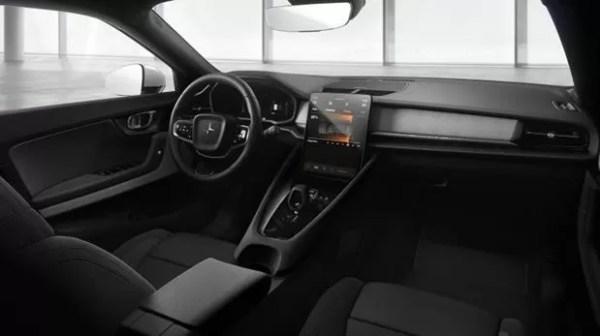POLESTAR 2 (2020) beautiful interior