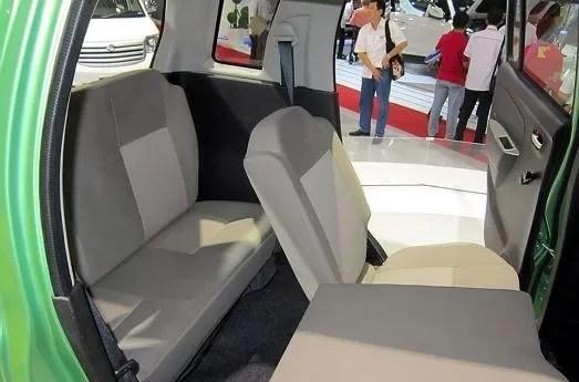 Suzuki Wagon R 7 Seater Interior