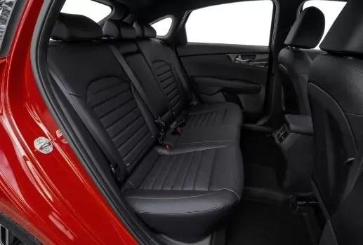KIA Cerato 2019 Rear seats