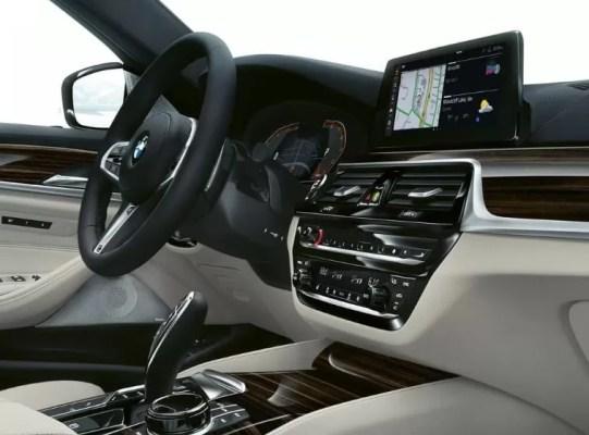 2020 BMW 5 Series interior aesthetics