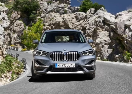 2020 BMW X1 Series front view