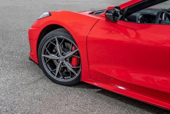 2020 Chevrolet corvette side view
